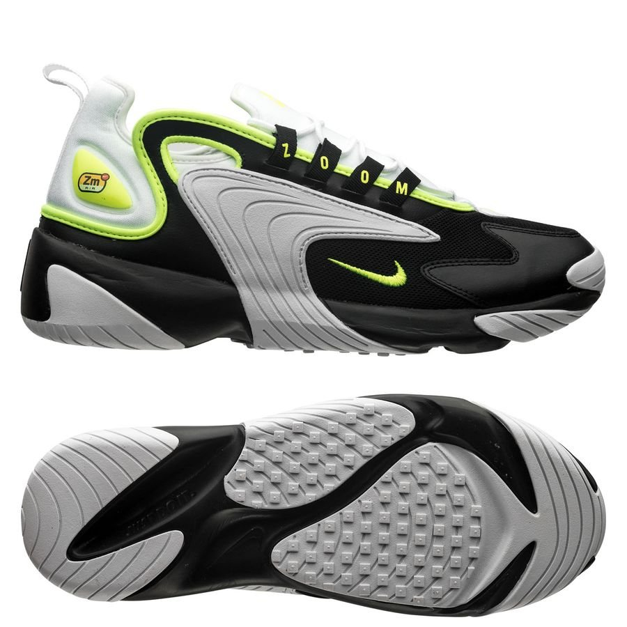 Nike Air Zoom 2K - Zwart/Neon/Wit