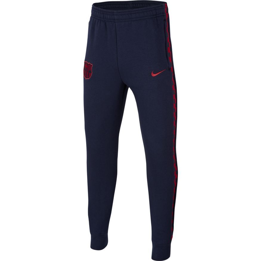 Barcelona Trainingsbroek Fleece - Navy/Bordeaux Kinderen