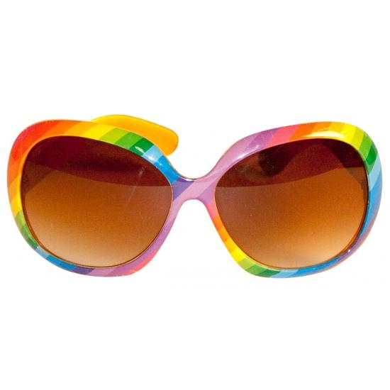 Regenboog zonnebril Multi