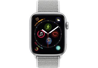 APPLE Watch Series 4 44mm zilver aluminium / seashell sportloop