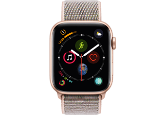 APPLE Watch Series 4 44mm goud aluminium / roze sportloop